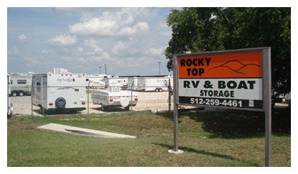 boat and rv storage liberty hill tx rocky top rv and boat storage