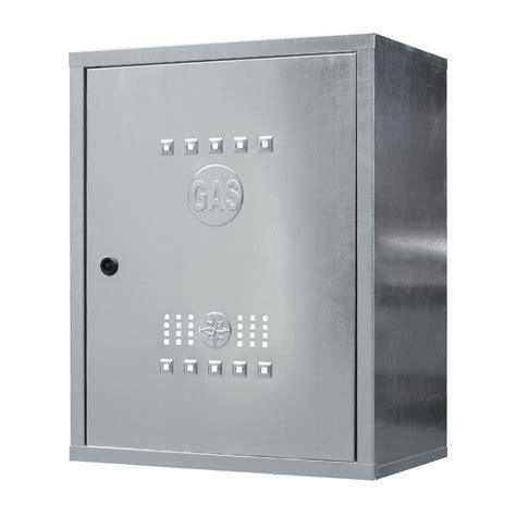 cassette gas 065 cassetta per contatore gas zincata