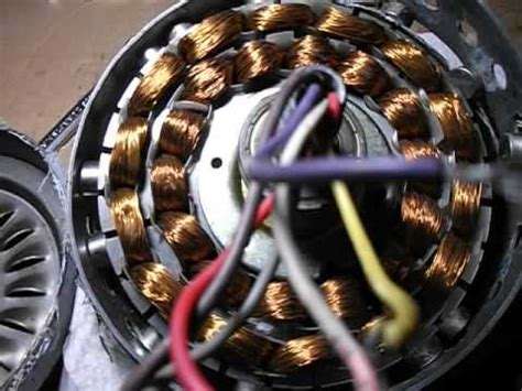 Ceiling Fan To Wind Generator by Ceiling Fan Wind Generator Rebuild 2