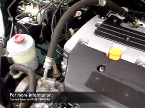 2004 honda crv engine youtube