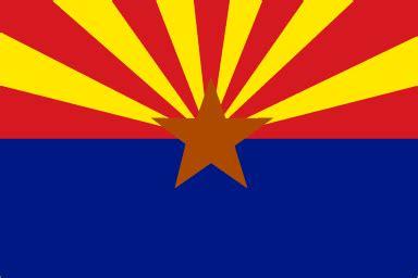 Arizona State by Arizona State Flag