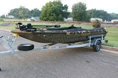 duck hunting boat death excel boat with 55hp mud buddy black death is ready for