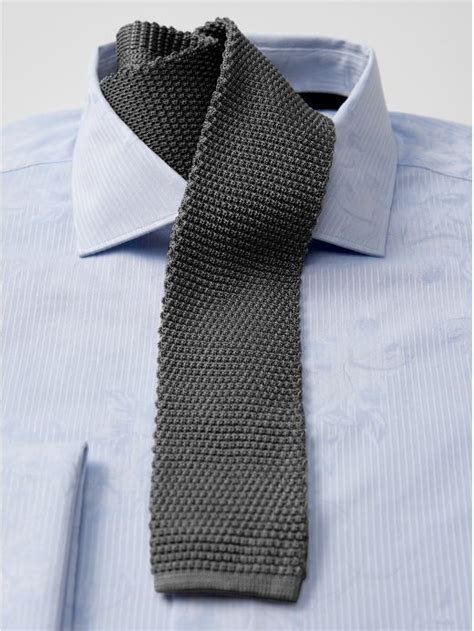 how to tie knitting knit ties with suits in summer styleforum