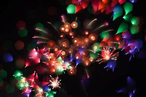 imagenes raras abstractas fotos de fuegos artificiales que adoptan formas abstractas