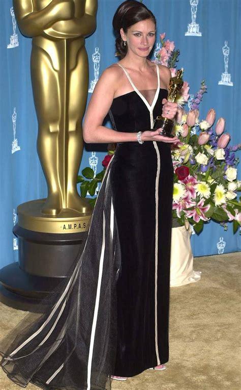 film oscar julia roberts julia roberts from 50 years of oscar dresses best actress