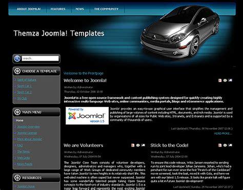 free joomla bleu orange website theme