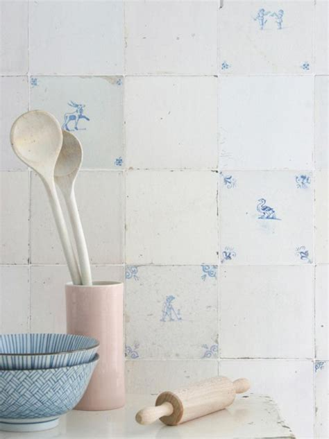 Tiled Kitchen Ideas Beautiful Shabby Chic Wallpaper And Wall Coverings The Shabby Chic Guru