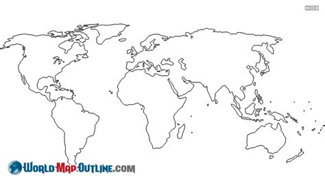 simple world map image simple world map outline