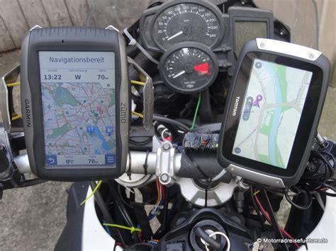 Motorrad Navi Garmin Vs Tomtom by Premium Navis Mit Lifetime Maps Motorradreisefuehrer De