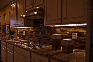 kitchen custom ideas for install cabinet lighting