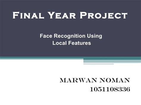 ai pattern recognition final year project face recognition system using lbp