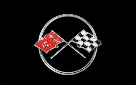 vintage corvette logo 1962 chevrolet corvette crossed flags logo photo 4