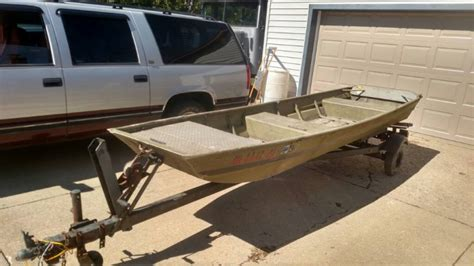 flat bottom jon boats for sale in ohio 14 ft flat bottom boat and trailer ohio game fishing