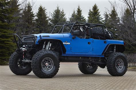 lifted jeep blue lifted trucks and jeeps google search jeeps weird