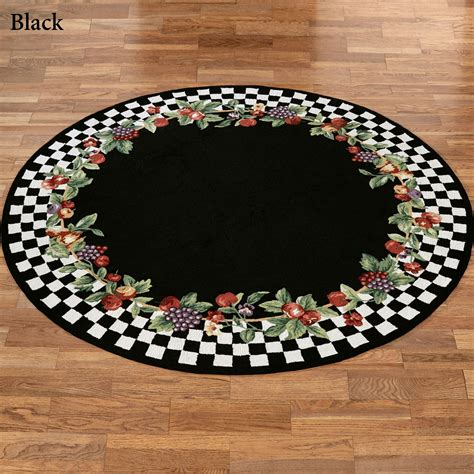 Fruit Rugs by Sonoma Hooked Fruit Rugs