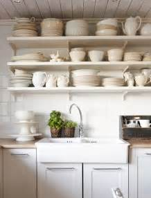 ideas for kitchen shelves open shelves kitchen design ideas for the simple person