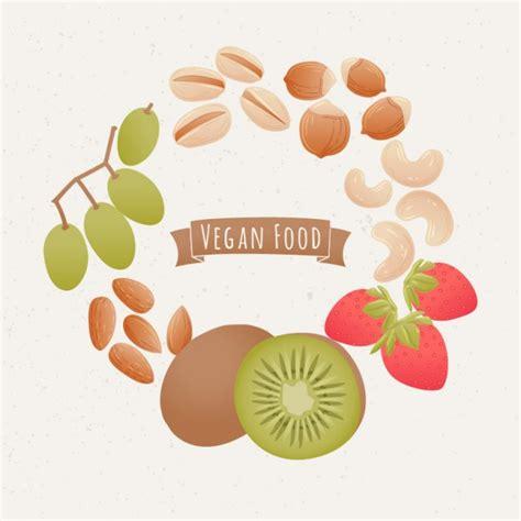 alimenti vegan fundo do alimento vegan colorido baixar vetores gr 225 tis