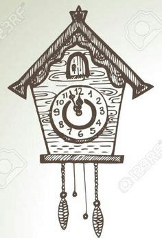 printable cuckoo clock template 1000 images about templates on pinterest cuckoo clocks