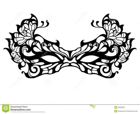 mens masquerade mask template the gallery for gt masquerade mask drawing