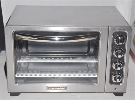 Kitchenaid Countertop Toaster Oven by Kitchenaid 12 Quot Stainless Steel Countertop Toaster Oven