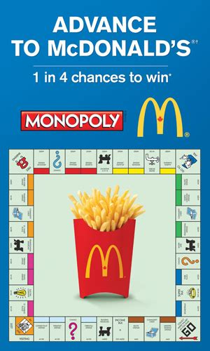 Lucky 7 Sweepstakes - playatmcd ca canadian monopoly game at mcdonald s sweepstakes directory
