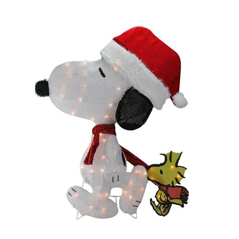snoopy lights outdoor peanuts snoopy outdoor lighted decoration home