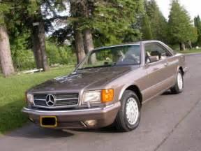 1991 Mercedes 560sec For Sale 1991 Mercedes 560sec 500sec 420sec 380sec For Sale