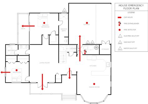emergency exit floor plan template emergency exit plan template emergency exit floor plan
