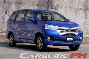 Toyota Avanza 2016 Review 2016 Toyota Avanza 1 5g A T Carguide Ph