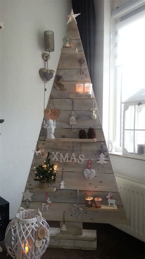 fun christmas tree made from scrap wood t is the season