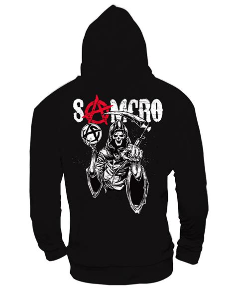 sons of anarchy l sons of anarchy samcro hoodie l licensed sweatshirt for