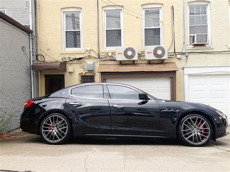 maserati ghibli grey black rims maserati ghibli wheels idea di immagine auto