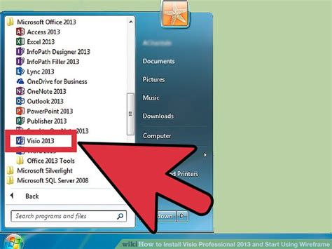 visio installation how to install visio professional 2013 and start using