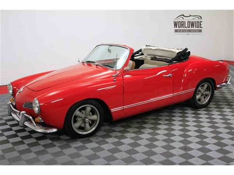 1965 Volkswagen For Sale by 1965 Volkswagen Karmann Ghia For Sale Classiccars