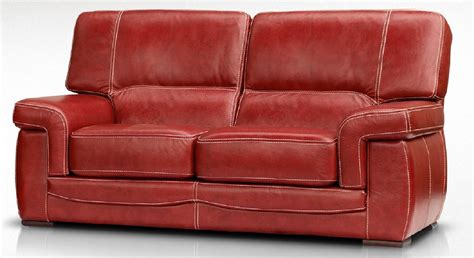 red leather 2 seater sofa siena 2 seater italian leather red settee sofa leather