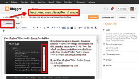 fungsi layout editor di coc cara membuat post dan fungsi tool di blog m4sdoel blog