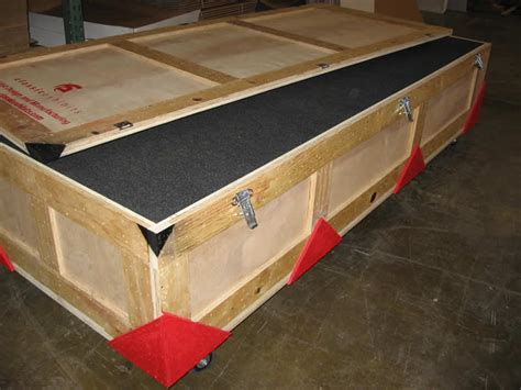 designer crates exhibit design search custom wood crate exle 13