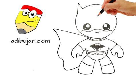 imagenes de dibujos kawaii a lapiz c 243 mo dibujar a batman kawaii a l 225 piz paso a paso dibujos