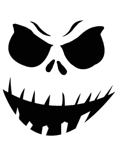 evil pumpkin template scary pumpkin clipart best