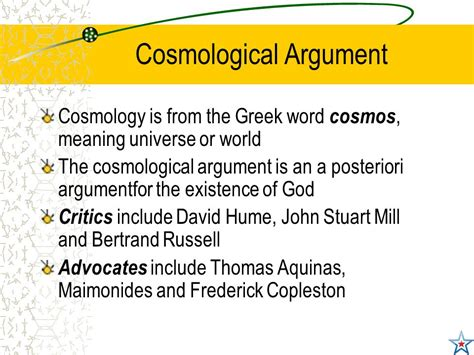 the god argument the rmps homework higher class here are the next set of slides to be working on the first is the