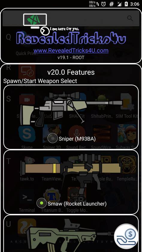 mod game mini militia toggle mod combo v20 0 jaw dropping features select