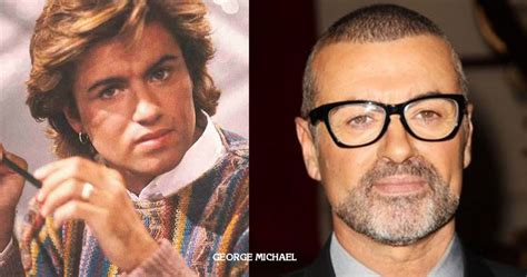 george michael crushes then and now pinterest george michael then and now pinterest george michael