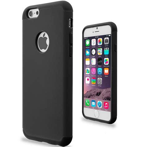 Sparkling For Apple Iphone 6 6s Black black black hybrid slim soft shockproof armor cover for apple iphone 6 6s 4 7