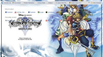 google themes kingdom hearts kingdom chrome themes themebeta