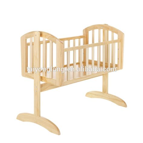 New Zealand Pine Wood Swing Baby Cradle Baby Crib Baby Cot