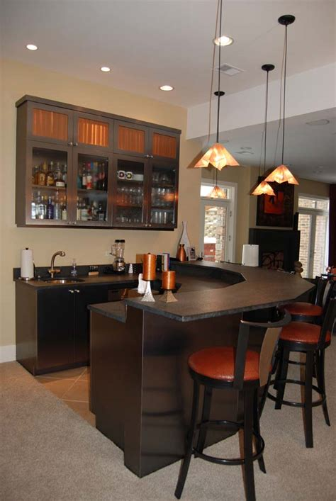 Home Bar Designs And Basement Homedesignpictures Basement Bar Idea