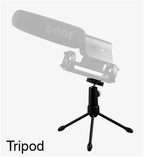 rode tripod microphone stand folding