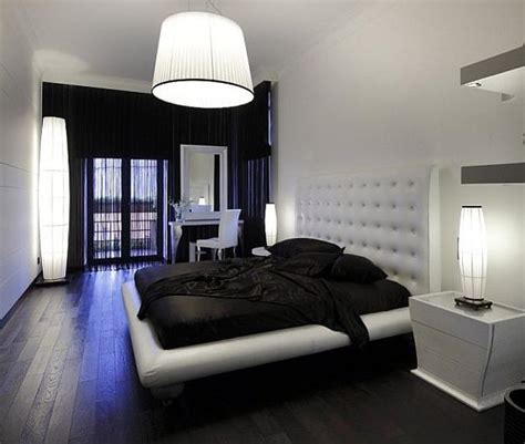Black And White Decor Bedroom by 25 Bedroom Decorating Ideas To Use Bright Accents In Black