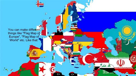 Flag Map how to make a flag map