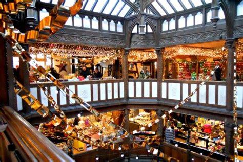 christmas extravaganza  liberty  london london perfect